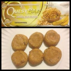 I cooked my questbar at 350 for 7 minutes. It was amazing!! -Jen