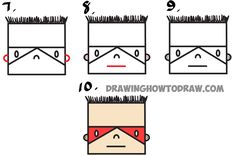 Learn How to Draw a Cartoon Superhero Boy from Letter E : Easy Step by Step Drawing Tutorial for Kids