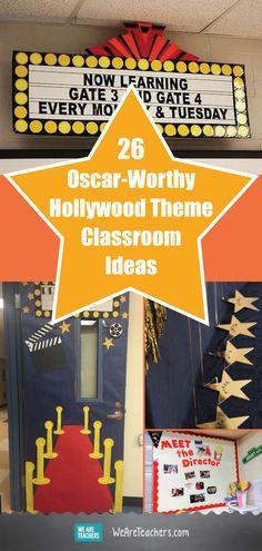 26 Oscar-worthy Hollywood Theme Classroom Ideas - Decoration For Home Star Themed Classroom, Stars Classroom, Classroom Door, Music Classroom, Preschool Classroom, Classroom Themes, Teaching Themes, Future Classroom, Popcorn Theme Classroom