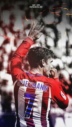 Antonie Griezmann #football #atleticomadrid #art