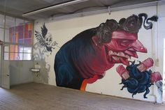 KNZ Clan at STROKE URBAN ART FAIR 2012