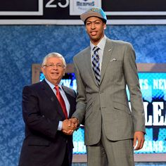 The New Orleans Hornets made Anthony Davis the No. 1 overall pick in the 2012 NBA draft Thursday.