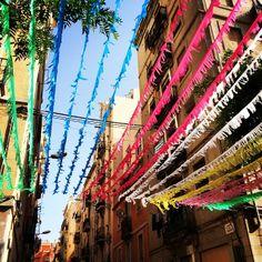 Festivities @ La Barceloneta - Barcelona, Spain