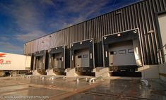 Loading systems is specialised in total solutions for loading and unloading service on dock equipment and industrial doors Industrial Door, Warehouse, Scale, Doors, Models, Mansions, House Styles, Black, Home Decor