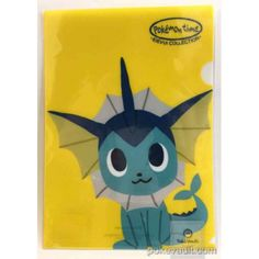 Pokemon Center 2015 Pokemon Time Campaign #8 Vaporeon A4 Size Clear File Folder