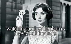 """Love in the Afernoon (called """"Ariane"""" in french) de Billy Wilder avec Audrey Hepburn Audrey Hepburn Movies, Audrey Hepburn Born, Audrey Hepburn Photos, Just Girly Things, British Actresses, Hollywood Actresses, My Idol, Persona, Style Icons"""
