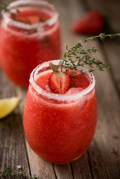 Jalapeño Strawberry Margarita