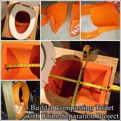 This tutorial of how to build a composting toilet with urine separation project is shared in hopes to help those living off grid or a homesteader have a to