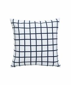 Grid Small Cushion Slate - Cushions - Bedroom - Homeware