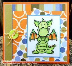 """I'm """"Dragon"""" by to wish you HB! by MiamiKel4 - Cards and Paper Crafts at Splitcoaststampers"""