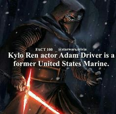 Star Wars Facts Star Wars Jokes, Star Wars Facts, Kylo Ren Actor, Star Wars Tattoo, Star Wars Wallpaper, Star Wars Baby, Disney Facts, Last Jedi, Love Stars