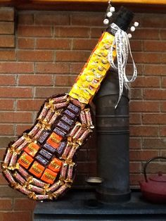 candy gift ideas on pinterest ferrero rocher guitar and candy gifts. Black Bedroom Furniture Sets. Home Design Ideas