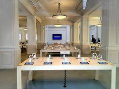 De store voelt VERTROUWD, roept HERKENNING op. Van het begin tot het einde is het Apple.