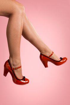 Cristofoli - Emily Velvet Bow Mary Jane pumps