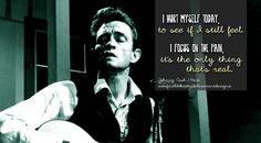 Johnny Cash, Hurt #Cash #Lyrics