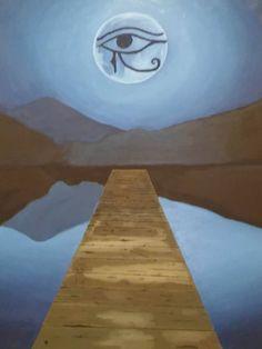 Original Artwork, God, Facebook, Canvas, Gallery, Artist, Painting, La Luna, Dios