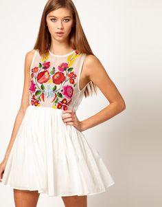 #AliceMcCall #Dress with #DigitalPrint #printed #Floral Motif #printeddress