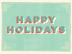 Holiday Post Card