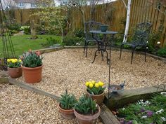 pea gravel patio ideas small patio design ideas firepit outdoor ... - Gravel Patio Designs