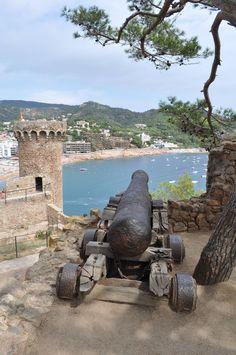 Tossa de Mar, Girona, Spain [OC] [1623 x 2444]