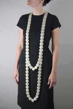 yevgeniya kaganovich - peark necklace series via bif