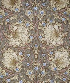Pimpernel by William Morris (1876)  Can be a great pattern for a half sleeve. :-)