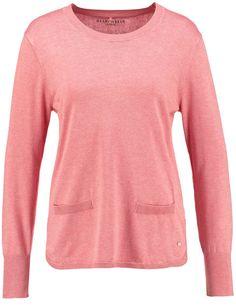 Pullover mit lässiger Weite,Vintage Rose-Melange