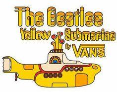The Beatles Yellow Submarine Vans