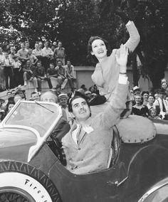Tyrone Power and Linda Darnell, 1940
