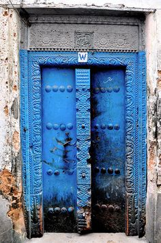 Doors of Stone Town, Zanzibar, scurvy_knaves