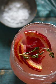 Icy Citrusy Grapefruit Margarita and a Blog Giveaway | Swati Bansal Rao.  ☀CQ #bartending #cocktails #margarita
