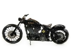 "Studio Shots of ""Johnny Cash""! Harley Davidson Custom Bike, Concept Motorcycles, Johnny Cash, Custom Bikes, Leather Working, Automobile, Vehicles, Planes, Trains"