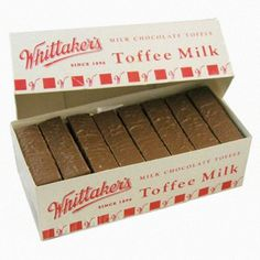 Buy Whittaker's Toffee Milk at Mighty Ape NZ A Kiwi classic! Bulk box with 72 toffee milks – hard caramel toffee sticks covered in Whittaker's smooth rich creamy milk chocolate each). Chocolate Toffee, Chocolate Flavors, Chocolate City, My Childhood Memories, Childhood Toys, New Zealand Food And Drink, K Bar, Milk Box, Kiwiana