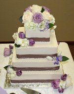 Wedding, Cake, Purple, Flower, Decoration, Fun, Classic, Dream day consulting