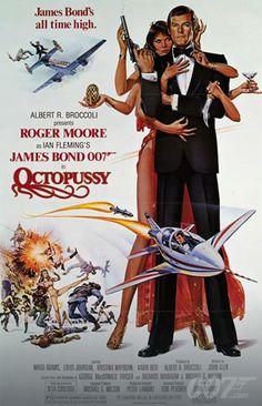 James Bond Octopussy movie poster