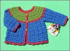 Patty Cake Cardi By Michele DuNaier - Free Crochet Pattern - (ravelry)