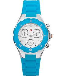 Michele Tahitian watch in Cerulean Blue ~