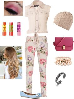 """""""School Outfit #2"""" by blair112 ❤ liked on Polyvore"""