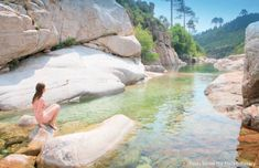 Amateur of wild bathing? Here are 18 dream spots … in France! Source by fredoostoll Places To Travel, Places To See, Travel Destinations, Outdoor Baths, Camping, End Of The World, Adventure Is Out There, Wanderlust Travel, The Great Outdoors