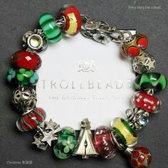 Ever since I was a child Christmas is all about red, green and silver! Love it!