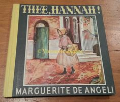Thee Hannah  by Marguerite de Angeli by Vintage4sure on Etsy, $18.00