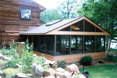 Screened in Porch Plans Classic