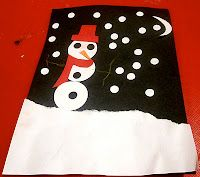 Easy Snowman Craft for Littles
