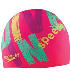 Speedo Dive In Silicone Swim Cap #swimoutlet
