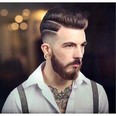 2016 Men's Hairstyles - High Lo Fade + Medium Pompadour
