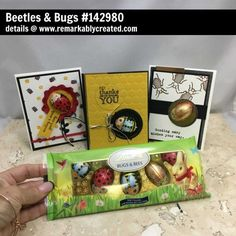 Who knew candy could inspire some fun Beetle & Bug stamp set projects?