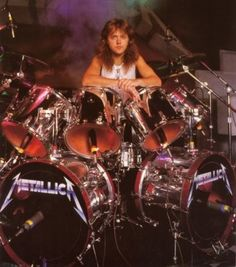 Lars Ulrich is a Danish drummer and one of the founding members of the American heavy metal band Metallica Robert Trujillo, Jason Newsted, Pet Shop Boys, Cliff Burton, James Hetfield, Rock N Roll, How To Play Drums, Learn Drums, Drummer Boy