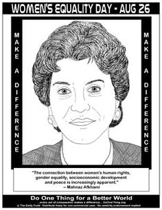 Learn about the activism of Mahnaz Afkhami #womensequalityday #do1thing