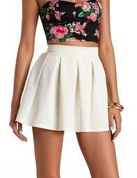 Resultado de imagen para falda y blusas elegantes de moda juvenil