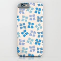 Snowflakes iPhone & iPod Case by Valendji | Society6